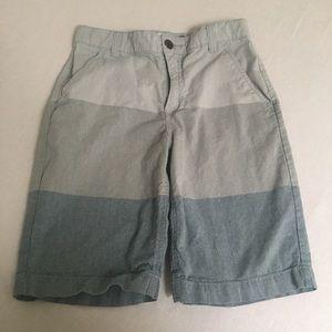 Boys 3 times blue shorts
